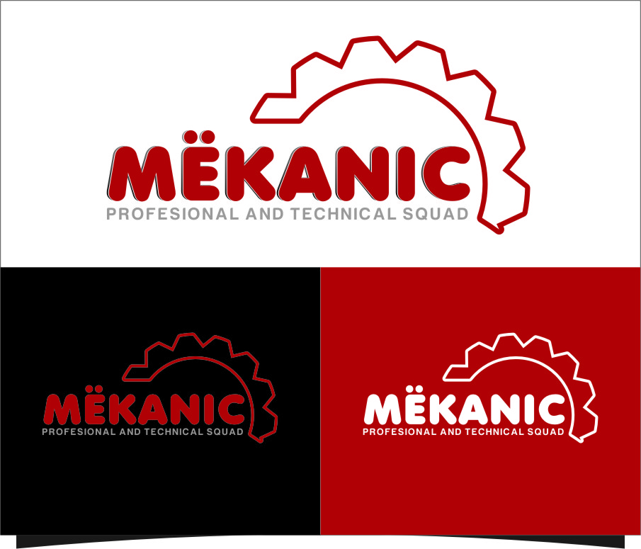 Logo Design by RasYa Muhammad Athaya - Entry No. 111 in the Logo Design Contest Creative Logo Design for MËKANIC - Professional and technical squad.