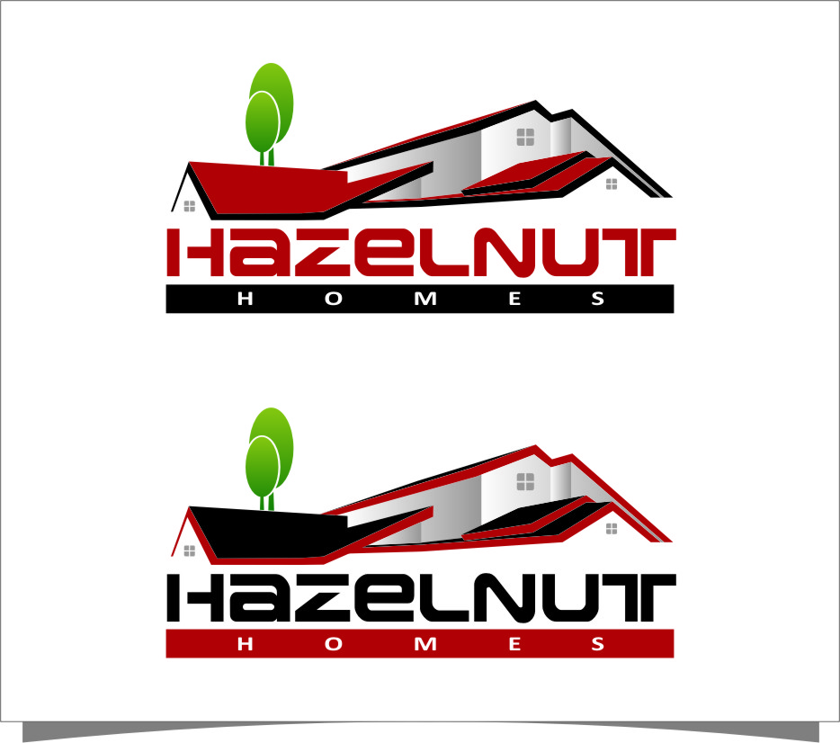 Logo Design by RasYa Muhammad Athaya - Entry No. 51 in the Logo Design Contest Unique Logo Design Wanted for Hazelnut Homes.