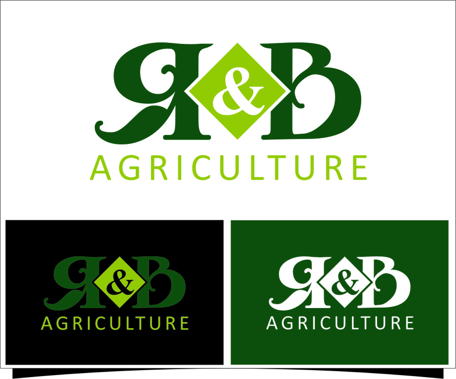 Logo Design by RasYa Muhammad Athaya - Entry No. 1 in the Logo Design Contest Captivating Logo Design for R & B Agriculture.