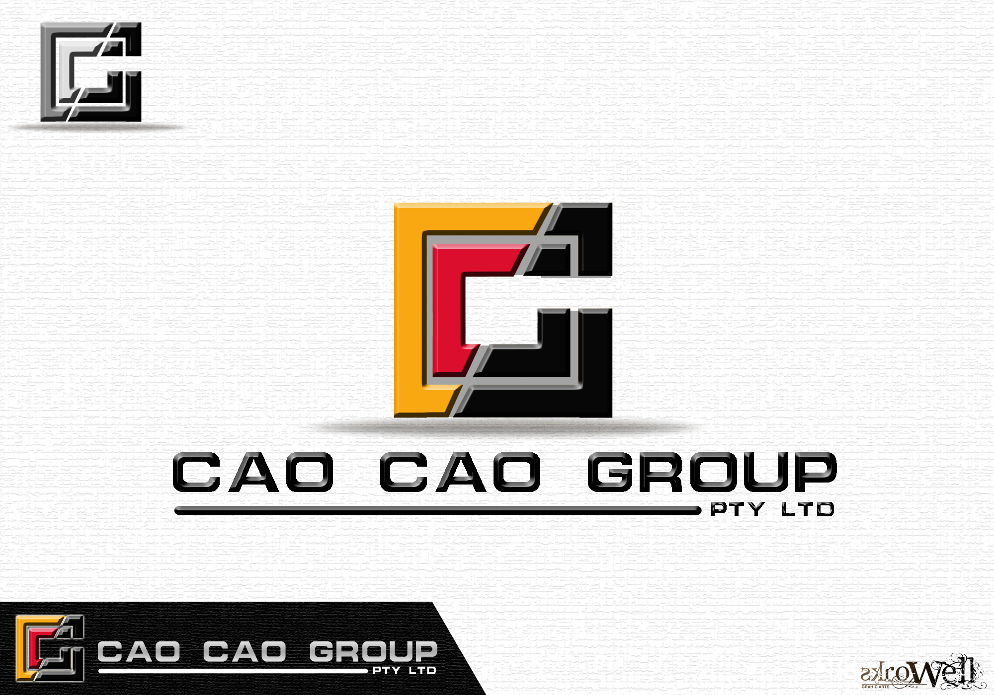 Logo Design by Rowell - Entry No. 131 in the Logo Design Contest cao cao group pty ltd Logo Design.