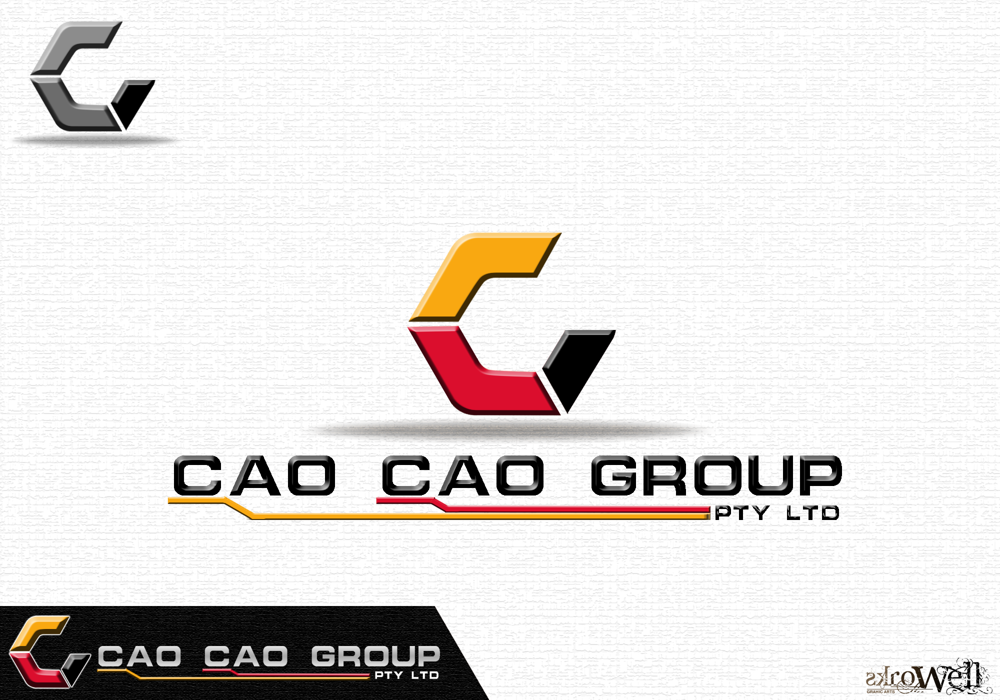 Logo Design by Rowell - Entry No. 133 in the Logo Design Contest cao cao group pty ltd Logo Design.