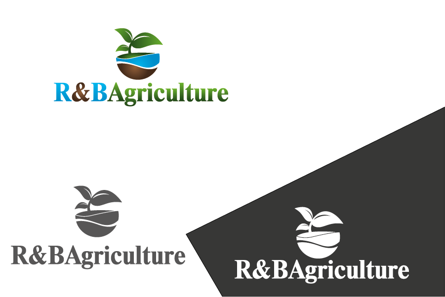 Logo Design by Private User - Entry No. 2 in the Logo Design Contest Captivating Logo Design for R & B Agriculture.