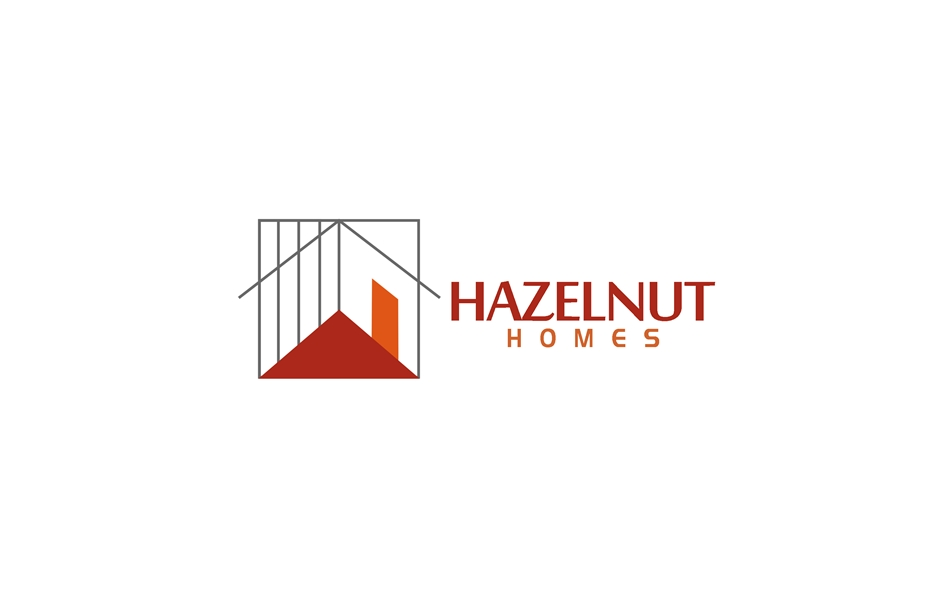 Logo Design by Respati Himawan - Entry No. 53 in the Logo Design Contest Unique Logo Design Wanted for Hazelnut Homes.