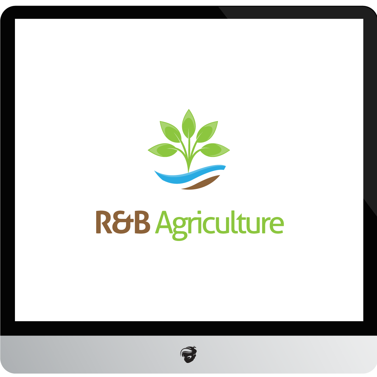 Logo Design by zesthar - Entry No. 4 in the Logo Design Contest Captivating Logo Design for R & B Agriculture.