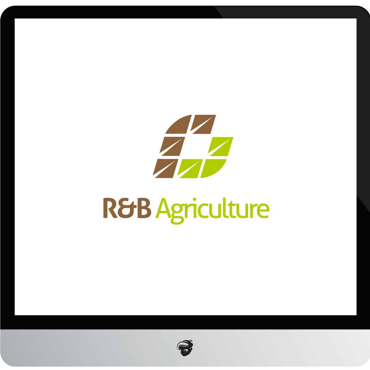Logo Design by zesthar - Entry No. 6 in the Logo Design Contest Captivating Logo Design for R & B Agriculture.