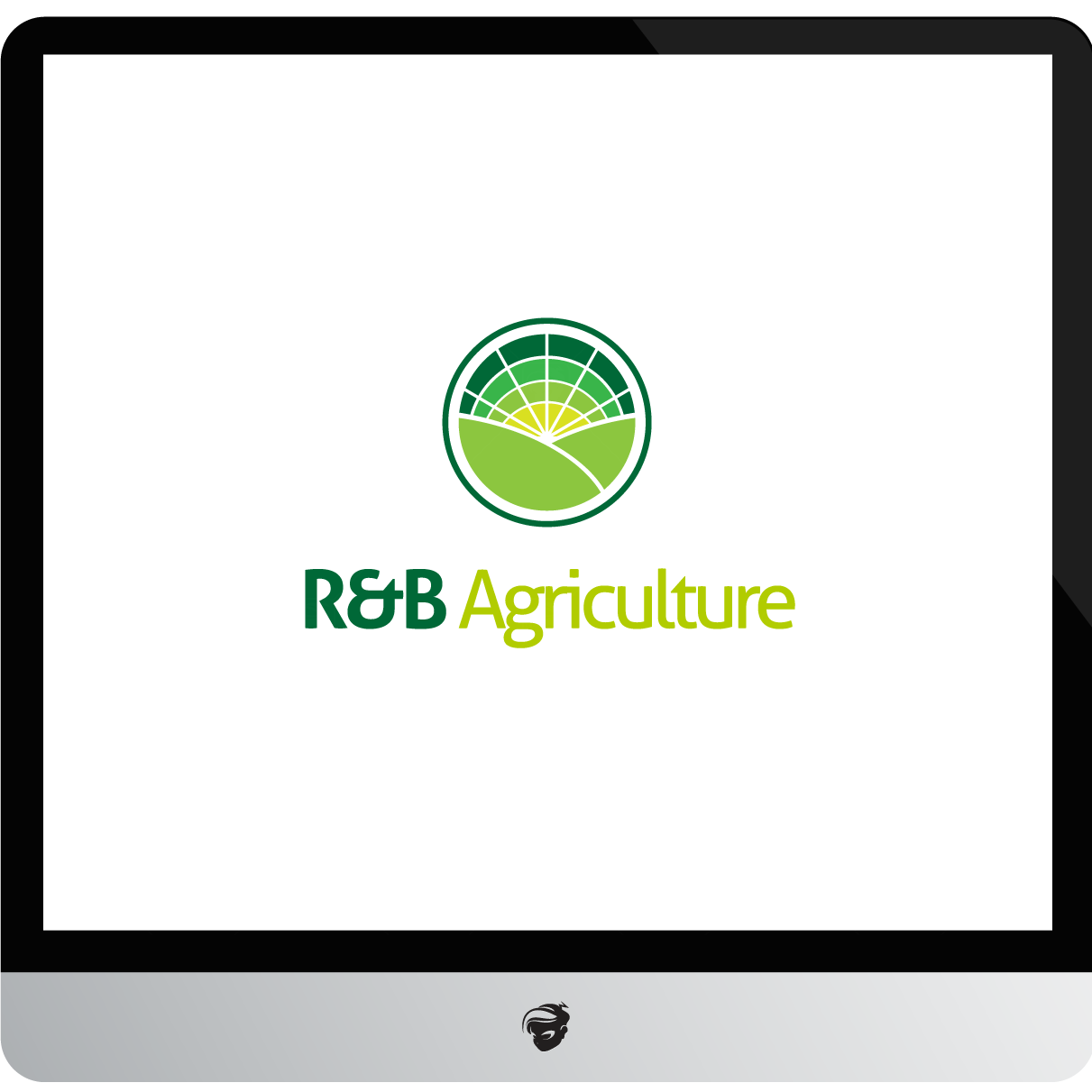 Logo Design by zesthar - Entry No. 9 in the Logo Design Contest Captivating Logo Design for R & B Agriculture.