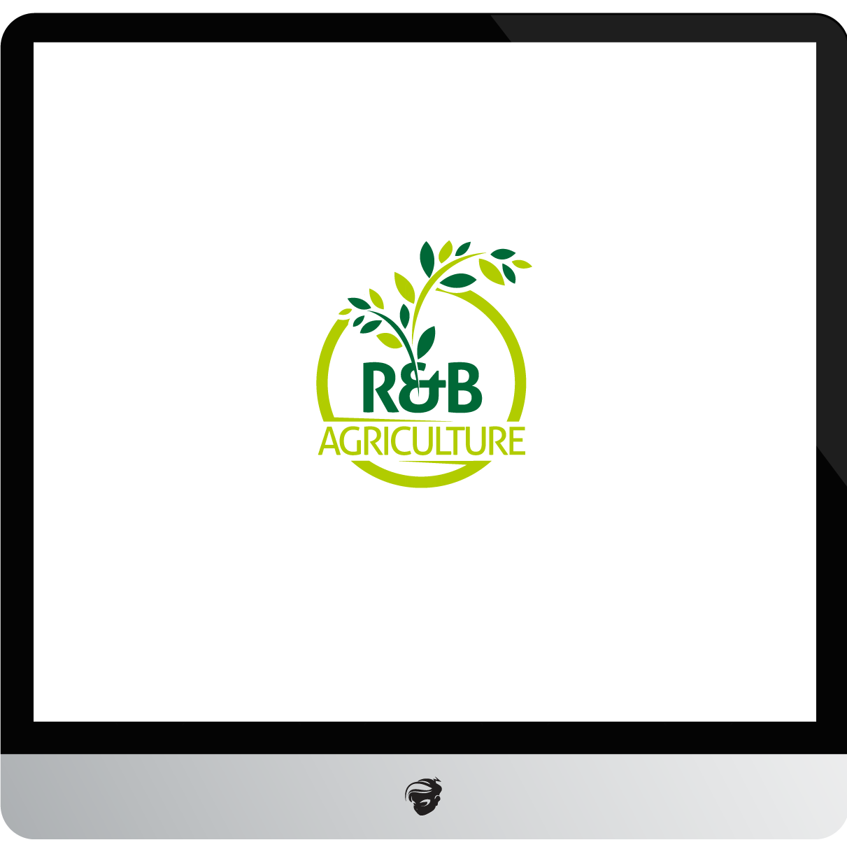 Logo Design by zesthar - Entry No. 10 in the Logo Design Contest Captivating Logo Design for R & B Agriculture.