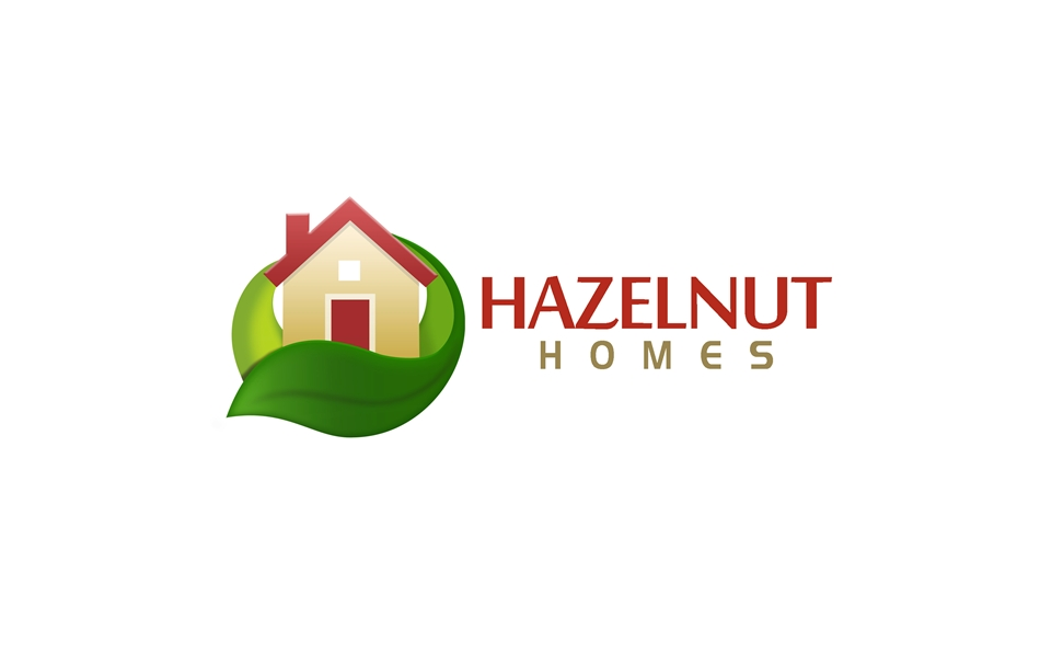 Logo Design by Respati Himawan - Entry No. 54 in the Logo Design Contest Unique Logo Design Wanted for Hazelnut Homes.