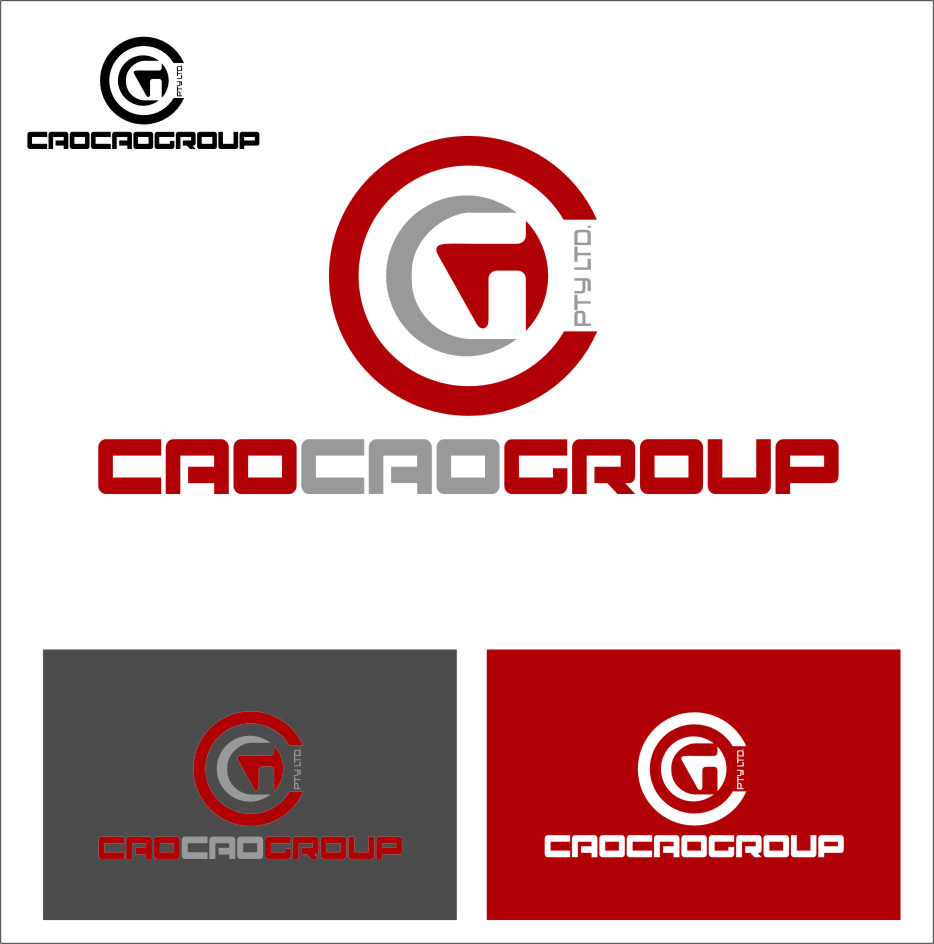 Logo Design by Ngepet_art - Entry No. 138 in the Logo Design Contest cao cao group pty ltd Logo Design.