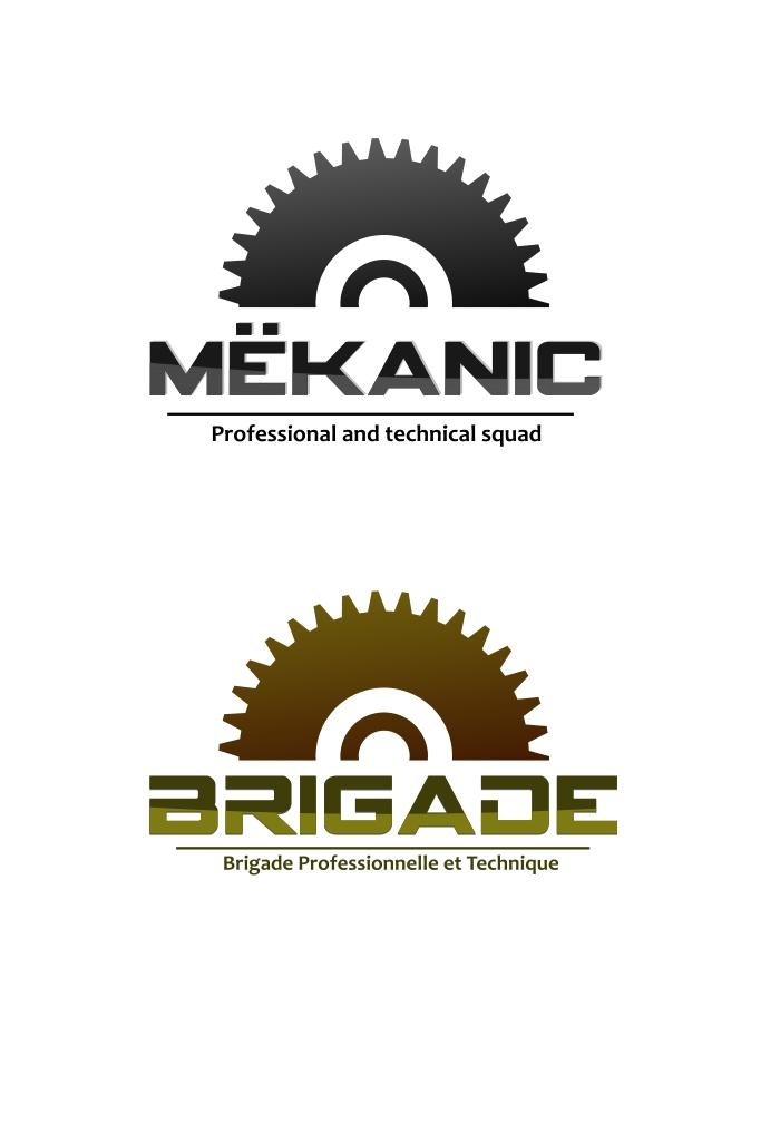 Logo Design by Private User - Entry No. 120 in the Logo Design Contest Creative Logo Design for MËKANIC - Professional and technical squad.