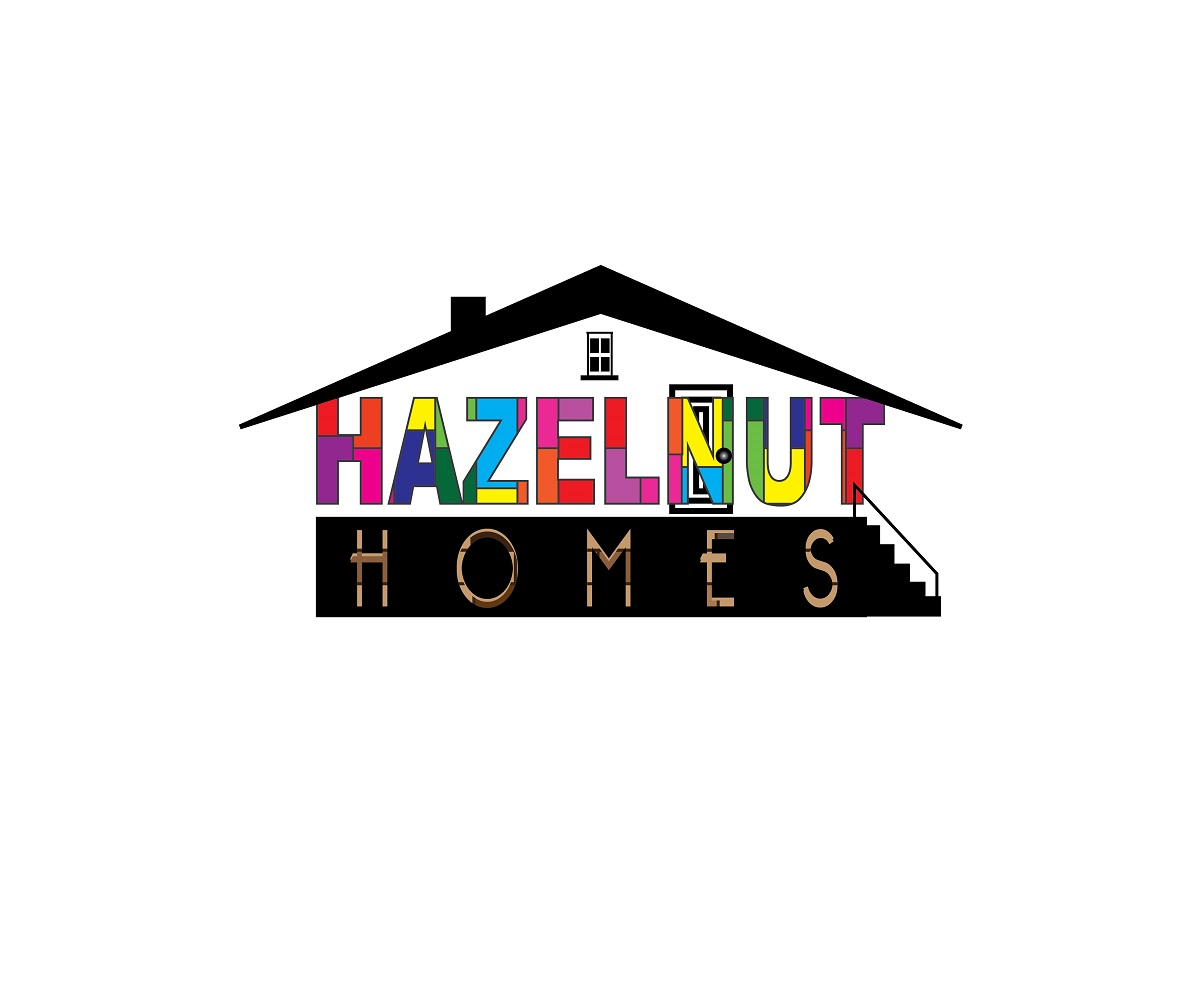 Logo Design by jhunzkie24 - Entry No. 56 in the Logo Design Contest Unique Logo Design Wanted for Hazelnut Homes.