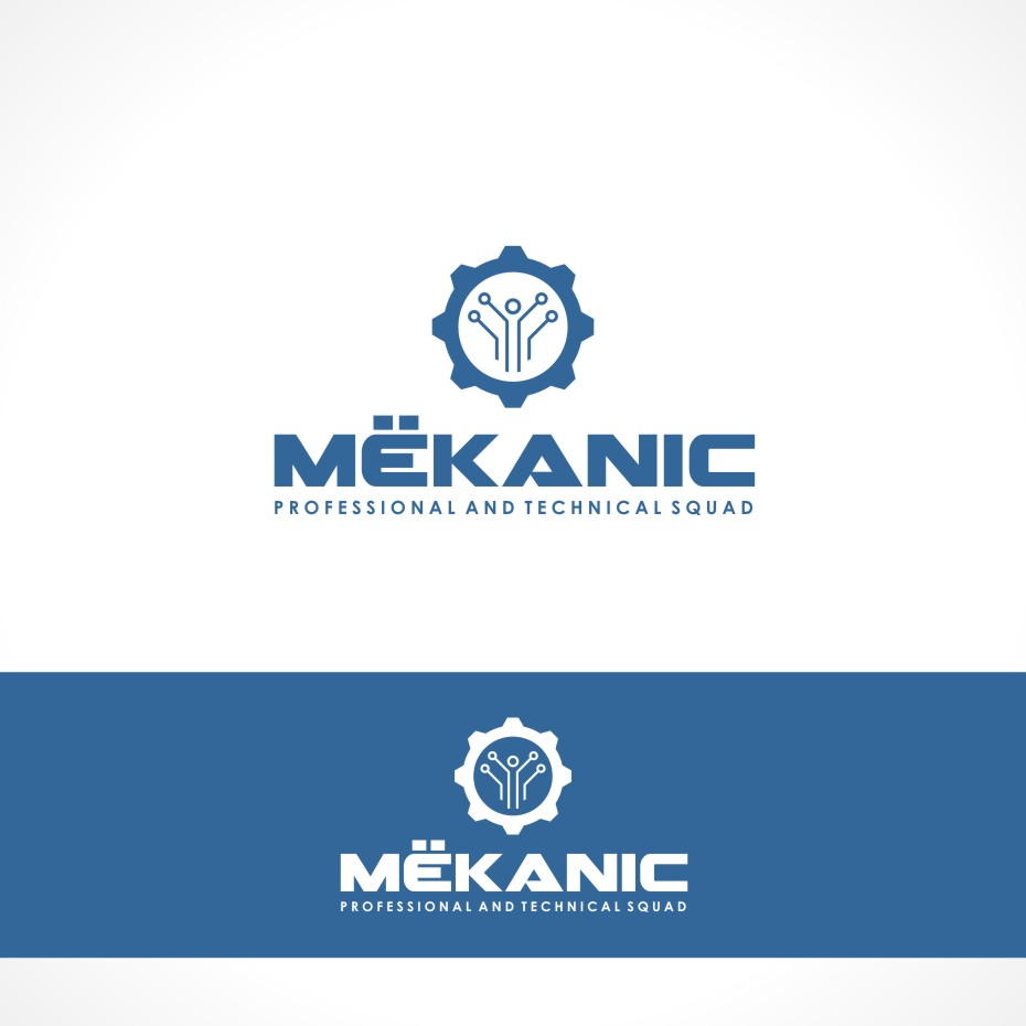 Logo Design by Private User - Entry No. 127 in the Logo Design Contest Creative Logo Design for MËKANIC - Professional and technical squad.