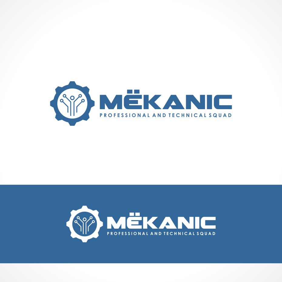 Logo Design by Private User - Entry No. 129 in the Logo Design Contest Creative Logo Design for MËKANIC - Professional and technical squad.