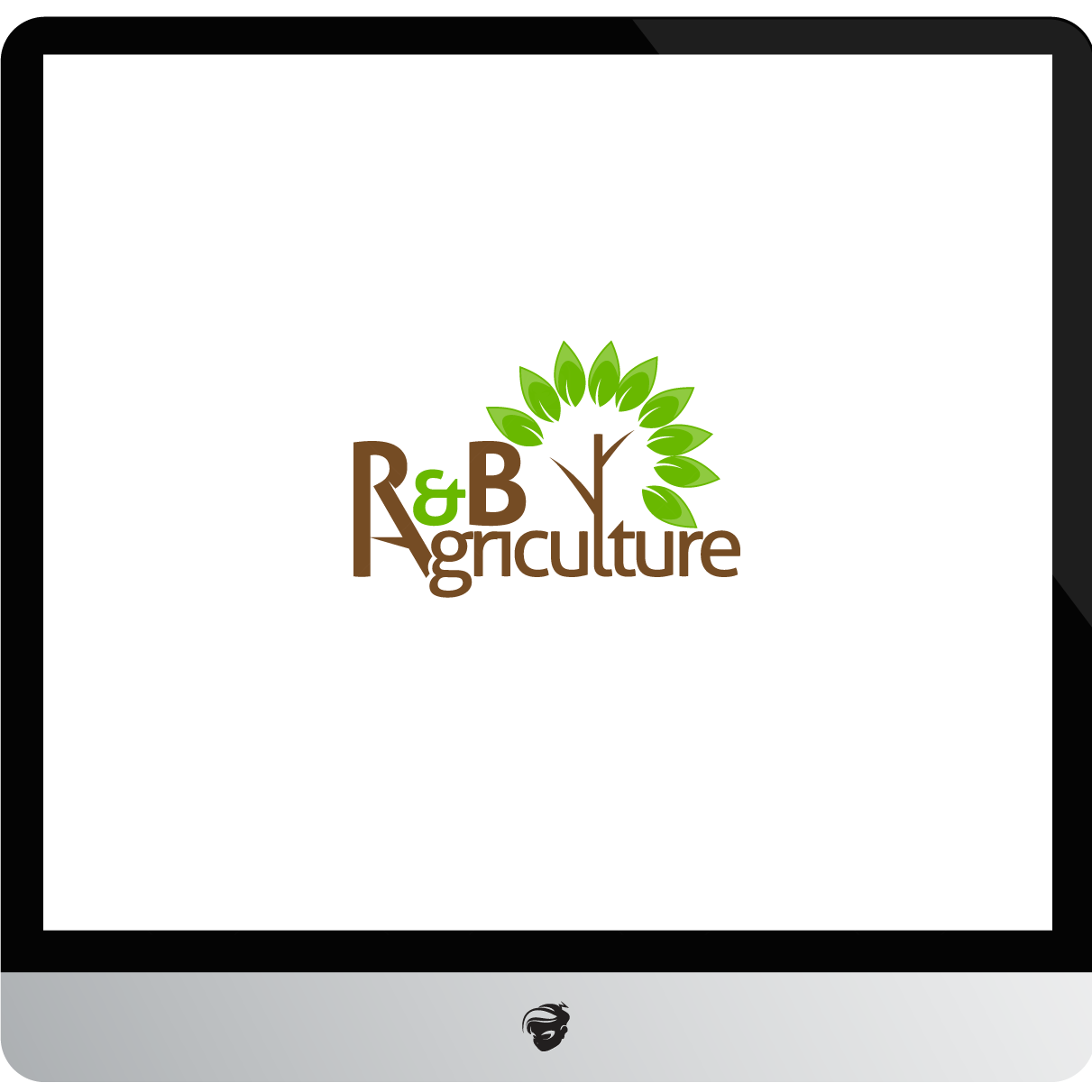 Logo Design by zesthar - Entry No. 11 in the Logo Design Contest Captivating Logo Design for R & B Agriculture.
