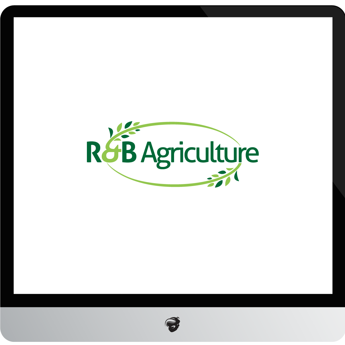 Logo Design by zesthar - Entry No. 12 in the Logo Design Contest Captivating Logo Design for R & B Agriculture.