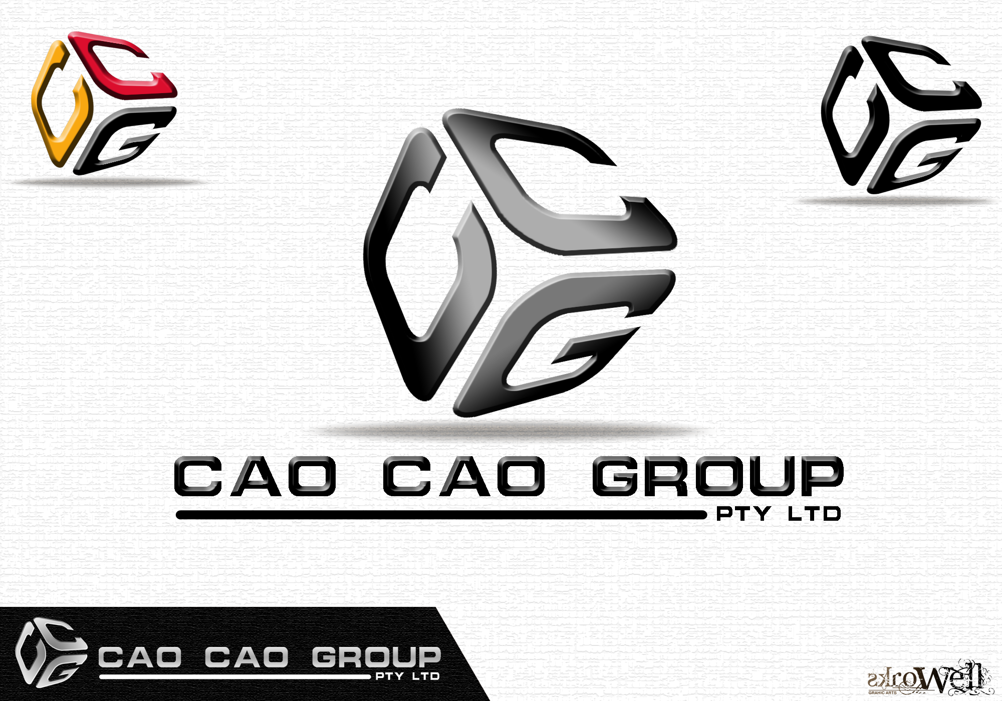 Logo Design by Rowell - Entry No. 153 in the Logo Design Contest cao cao group pty ltd Logo Design.