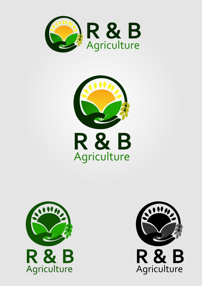 Logo Design by Private User - Entry No. 13 in the Logo Design Contest Captivating Logo Design for R & B Agriculture.
