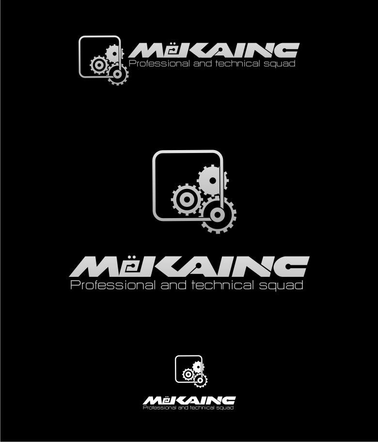 Logo Design by graphicleaf - Entry No. 133 in the Logo Design Contest Creative Logo Design for MËKANIC - Professional and technical squad.