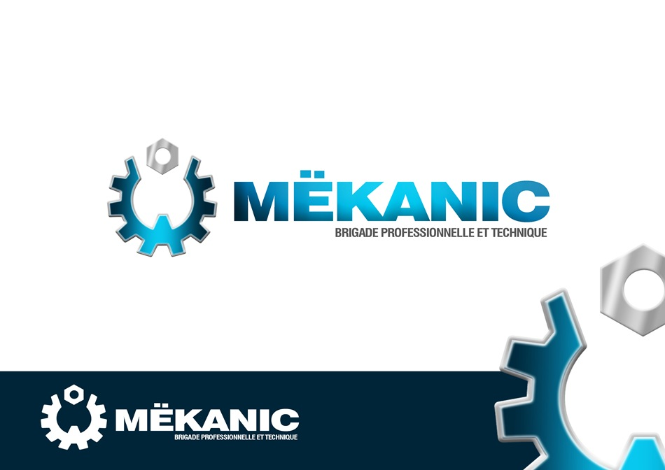 Logo Design by Respati Himawan - Entry No. 135 in the Logo Design Contest Creative Logo Design for MËKANIC - Professional and technical squad.