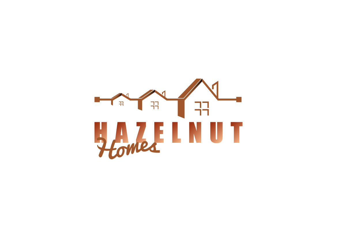 Logo Design by Dit L Pambudi - Entry No. 61 in the Logo Design Contest Unique Logo Design Wanted for Hazelnut Homes.