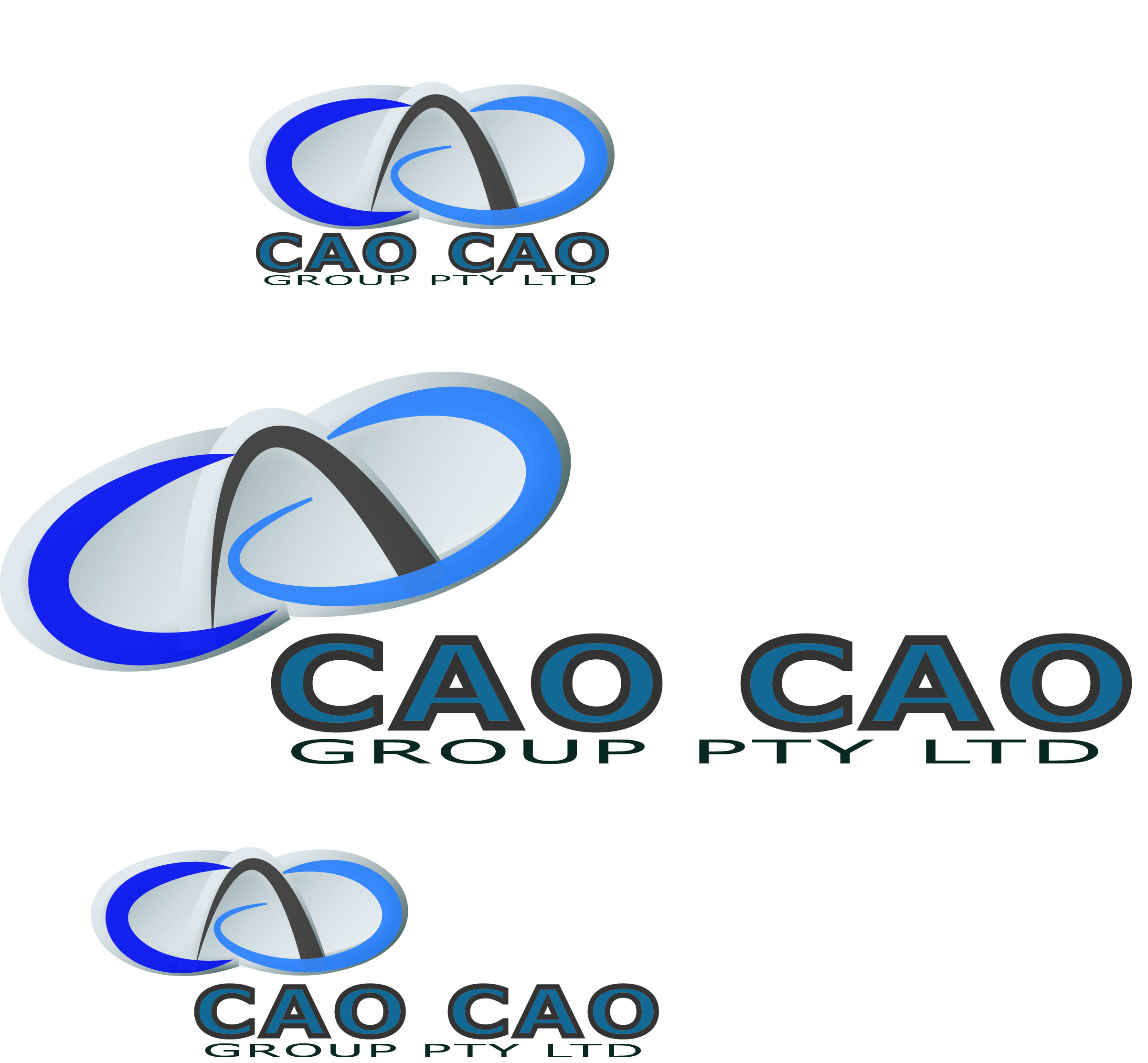 Logo Design by Susan Palmer - Entry No. 157 in the Logo Design Contest cao cao group pty ltd Logo Design.