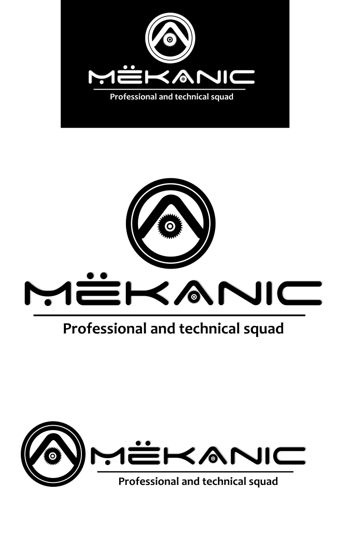 Logo Design by Private User - Entry No. 144 in the Logo Design Contest Creative Logo Design for MËKANIC - Professional and technical squad.