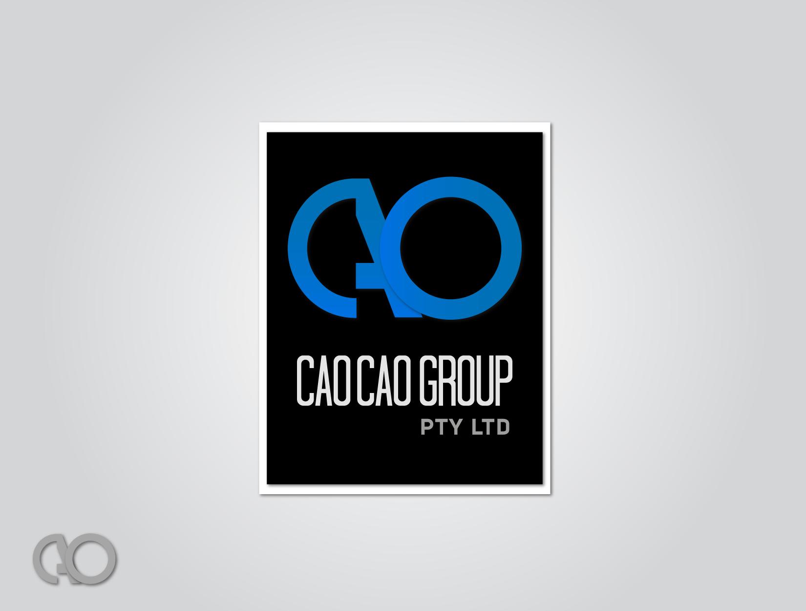 Logo Design by funkeekhan - Entry No. 163 in the Logo Design Contest cao cao group pty ltd Logo Design.
