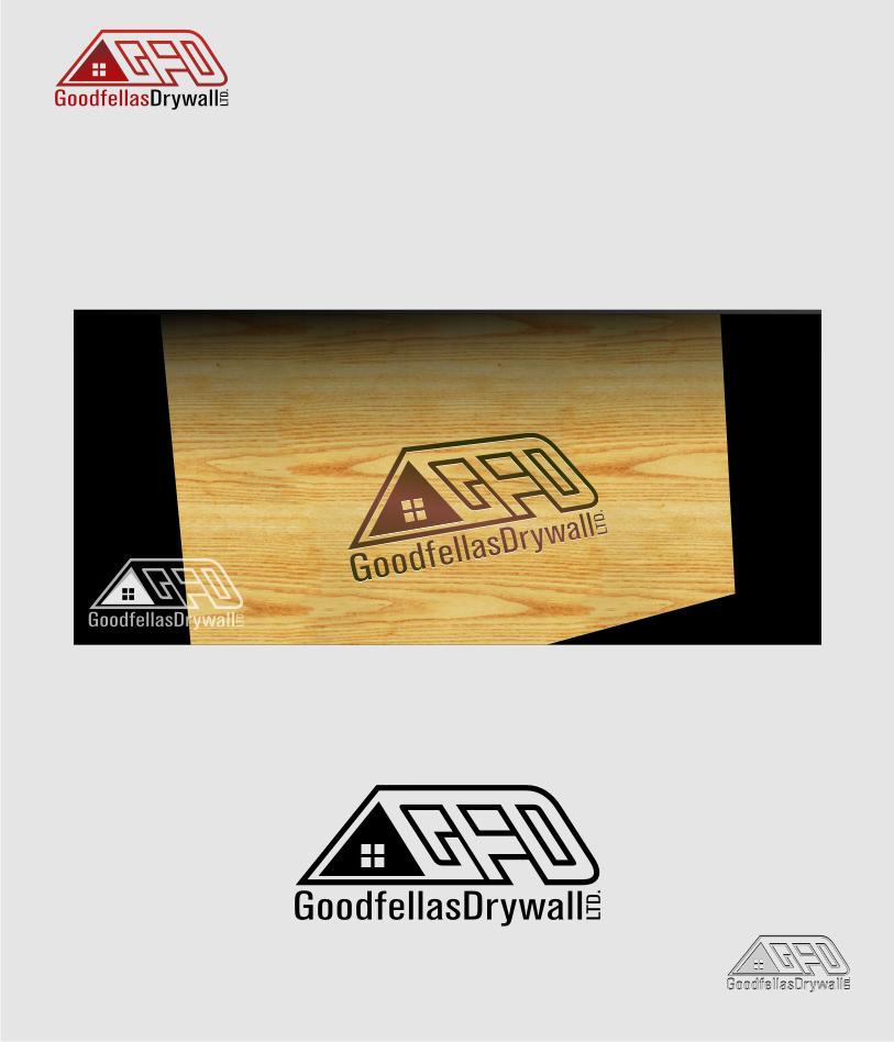 Logo Design by Muhammad Nasrul chasib - Entry No. 183 in the Logo Design Contest Creative Logo Design for Goodfellas Drywall.