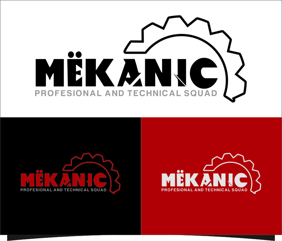 Logo Design by RasYa Muhammad Athaya - Entry No. 146 in the Logo Design Contest Creative Logo Design for MËKANIC - Professional and technical squad.