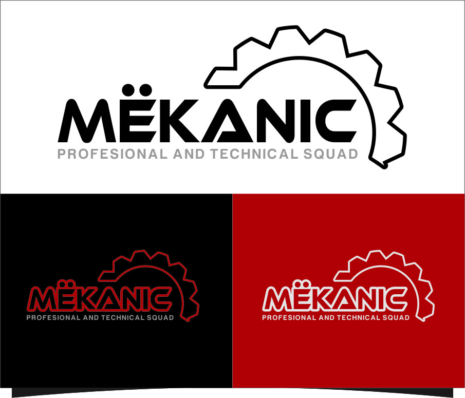 Logo Design by RasYa Muhammad Athaya - Entry No. 147 in the Logo Design Contest Creative Logo Design for MËKANIC - Professional and technical squad.