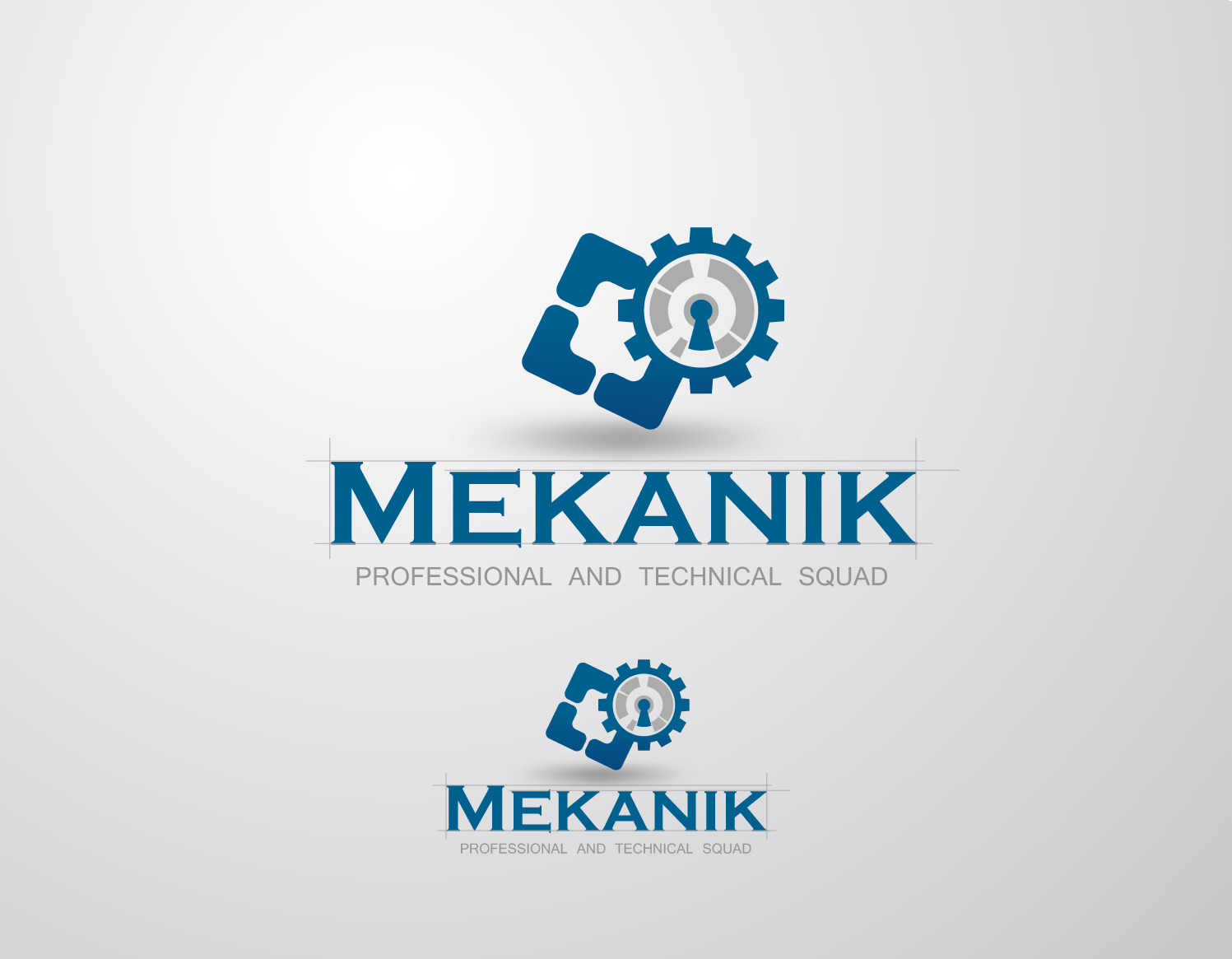 Logo Design by Mark Anthony Moreto Jordan - Entry No. 149 in the Logo Design Contest Creative Logo Design for MËKANIC - Professional and technical squad.