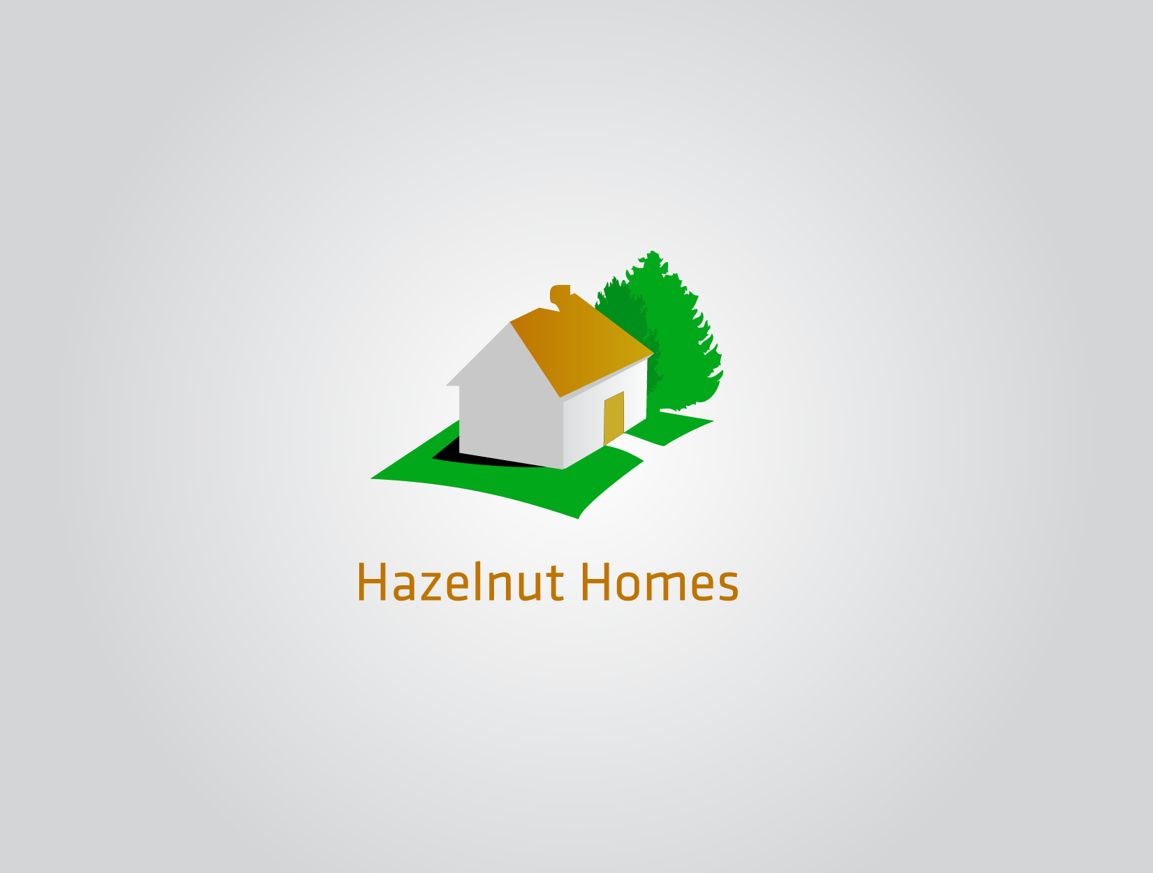 Logo Design by funkeekhan - Entry No. 63 in the Logo Design Contest Unique Logo Design Wanted for Hazelnut Homes.