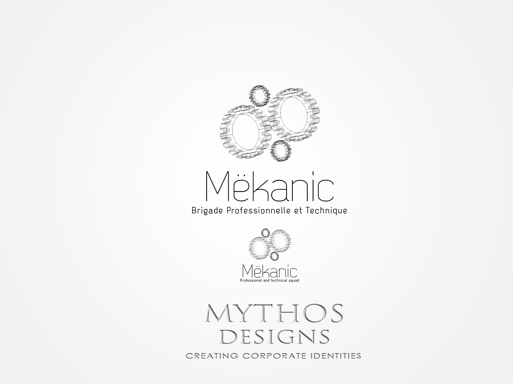 Logo Design by Mythos Designs - Entry No. 158 in the Logo Design Contest Creative Logo Design for MËKANIC - Professional and technical squad.