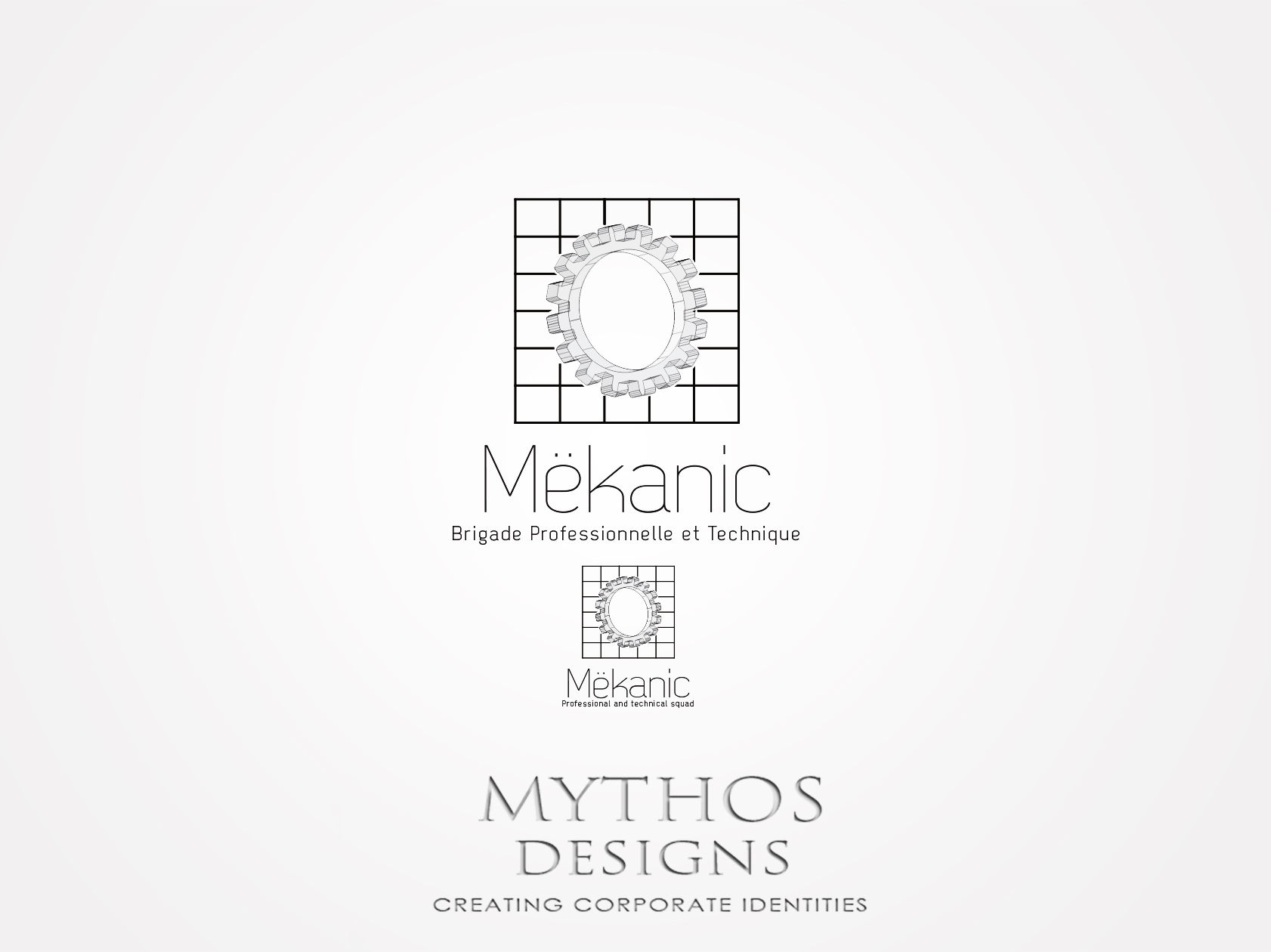 Logo Design by Mythos Designs - Entry No. 159 in the Logo Design Contest Creative Logo Design for MËKANIC - Professional and technical squad.