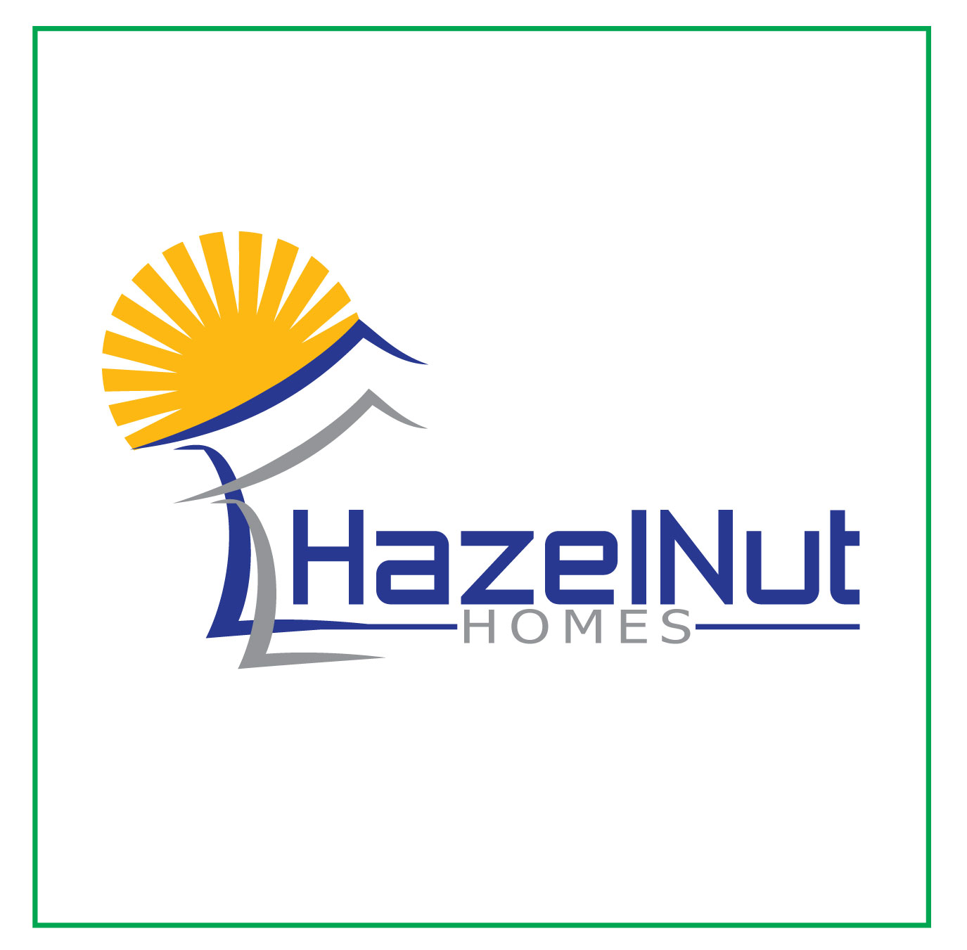 Logo Design by Jerry Gammad - Entry No. 64 in the Logo Design Contest Unique Logo Design Wanted for Hazelnut Homes.