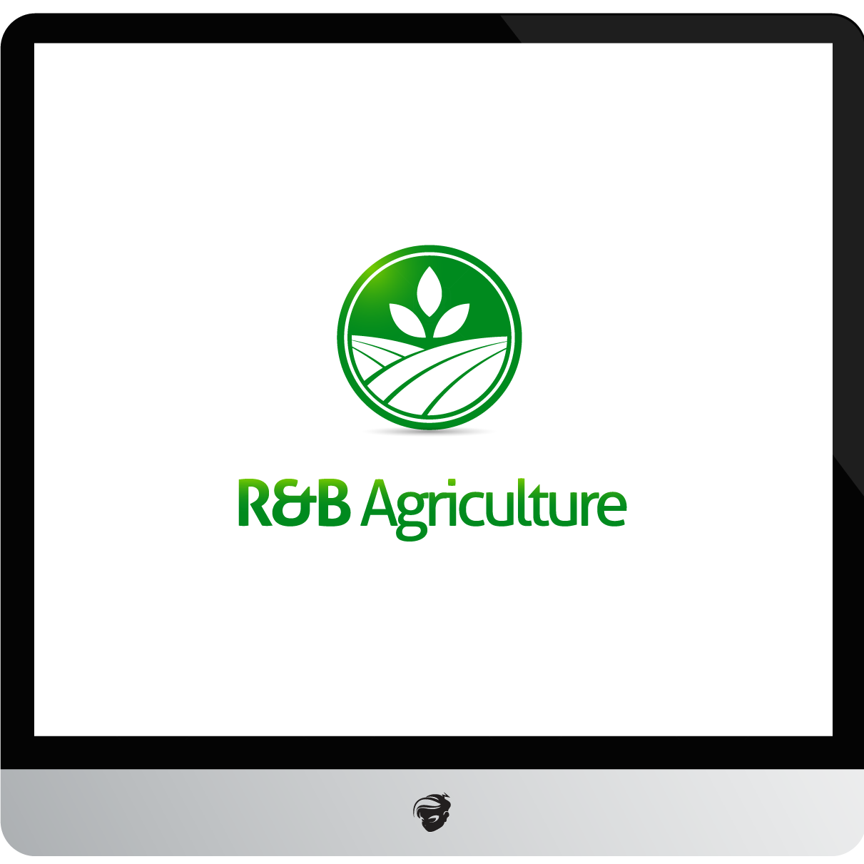 Logo Design by zesthar - Entry No. 15 in the Logo Design Contest Captivating Logo Design for R & B Agriculture.