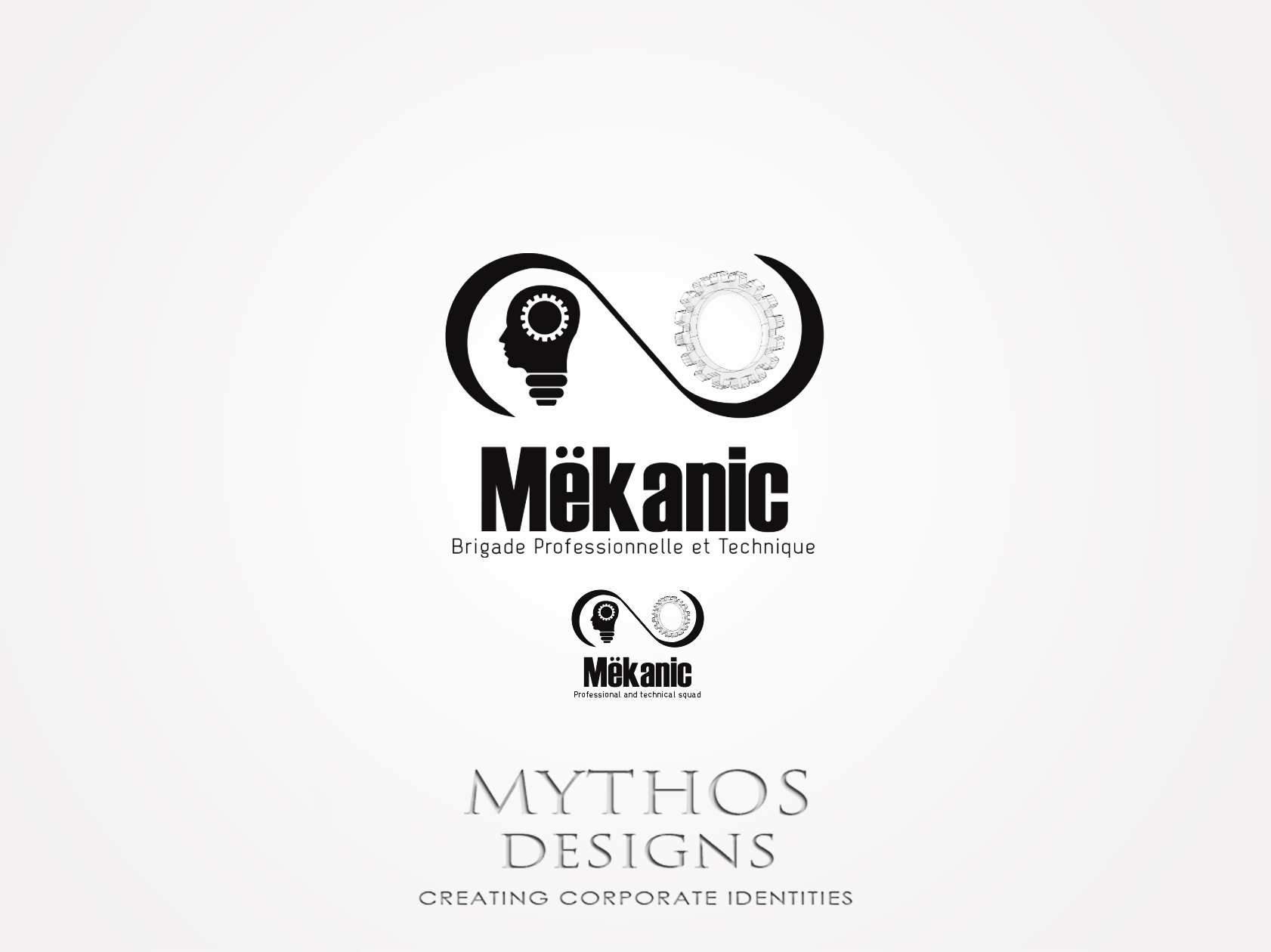 Logo Design by Mythos Designs - Entry No. 163 in the Logo Design Contest Creative Logo Design for MËKANIC - Professional and technical squad.