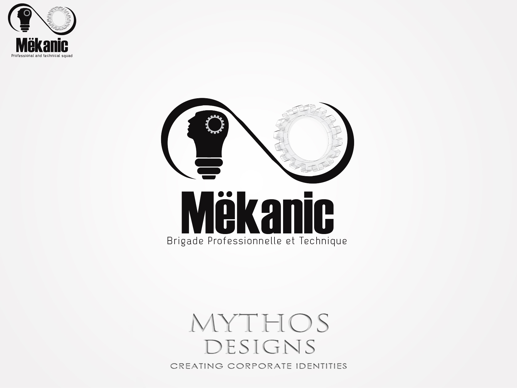 Logo Design by Mythos Designs - Entry No. 164 in the Logo Design Contest Creative Logo Design for MËKANIC - Professional and technical squad.