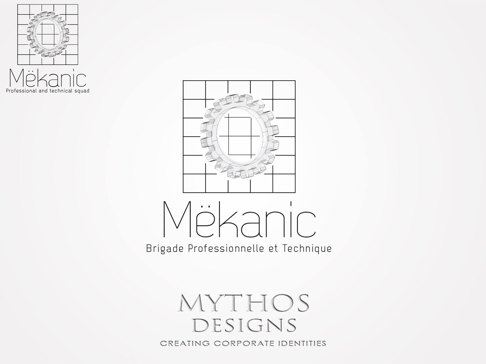 Logo Design by Mythos Designs - Entry No. 165 in the Logo Design Contest Creative Logo Design for MËKANIC - Professional and technical squad.