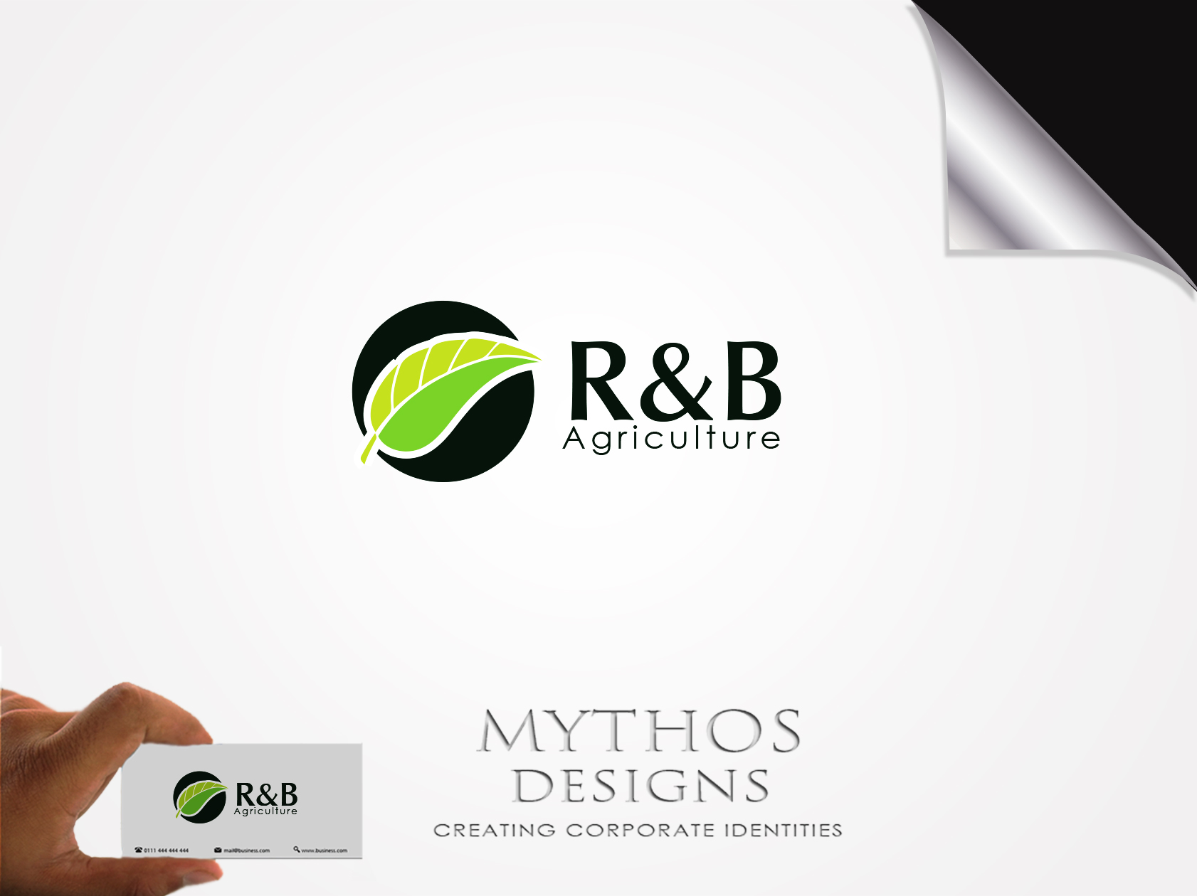 Logo Design by Mythos Designs - Entry No. 18 in the Logo Design Contest Captivating Logo Design for R & B Agriculture.