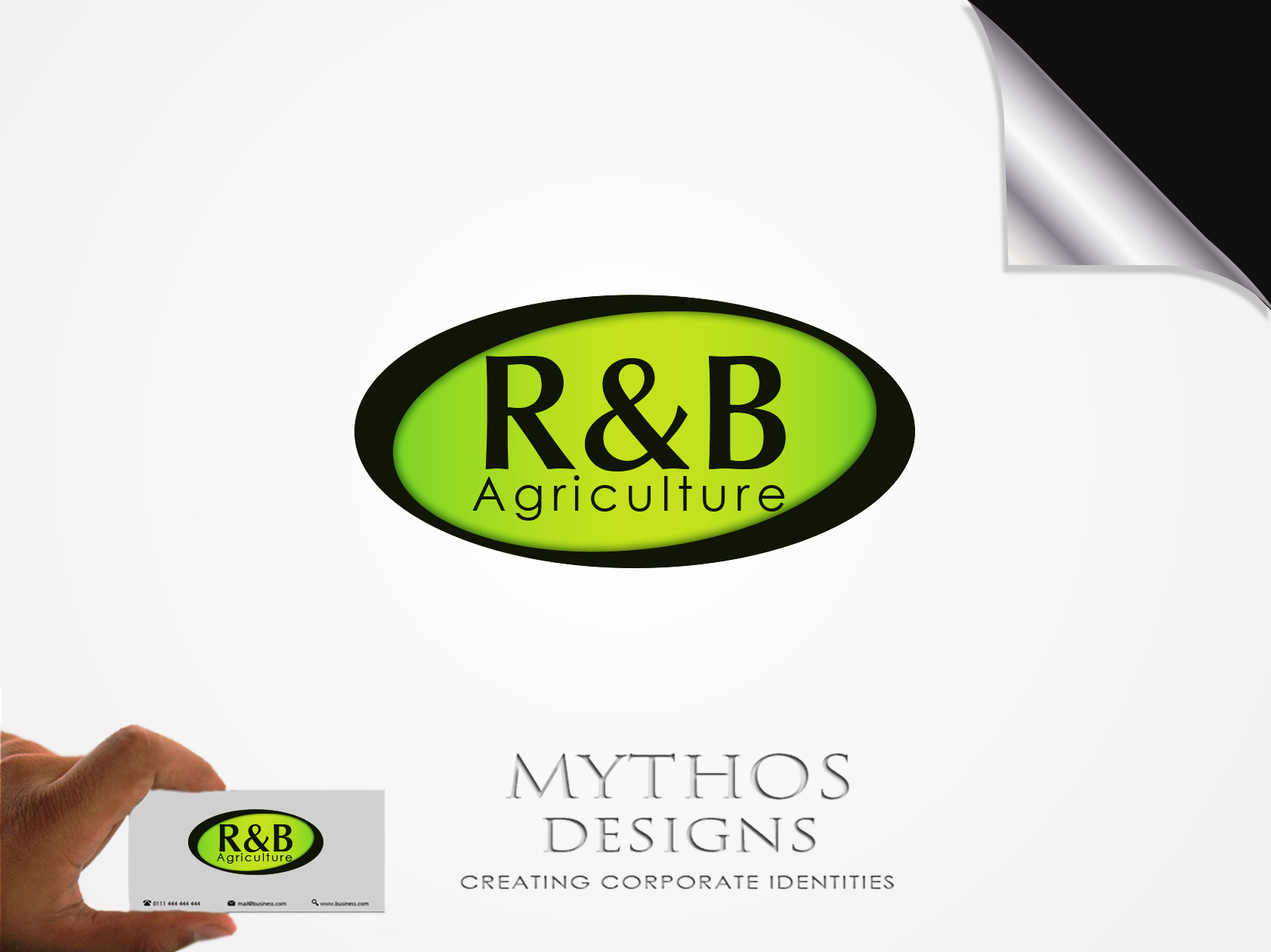 Logo Design by Mythos Designs - Entry No. 21 in the Logo Design Contest Captivating Logo Design for R & B Agriculture.