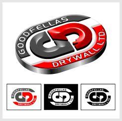 Logo Design by brown_hair - Entry No. 196 in the Logo Design Contest Creative Logo Design for Goodfellas Drywall.