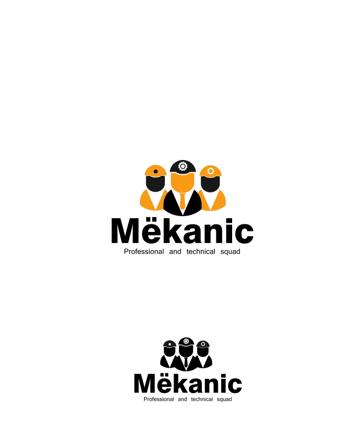 Logo Design by Private User - Entry No. 168 in the Logo Design Contest Creative Logo Design for MËKANIC - Professional and technical squad.