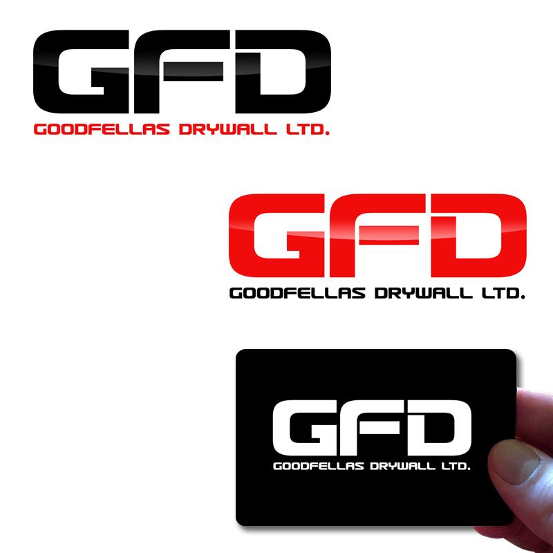 Logo Design by Private User - Entry No. 198 in the Logo Design Contest Creative Logo Design for Goodfellas Drywall.