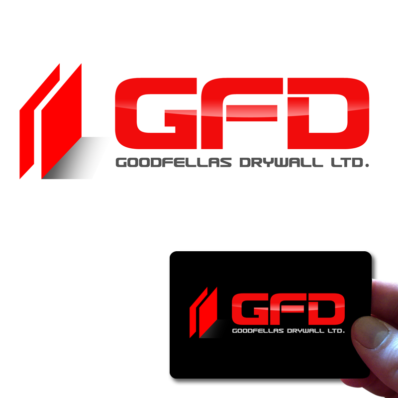 Logo Design by Private User - Entry No. 199 in the Logo Design Contest Creative Logo Design for Goodfellas Drywall.