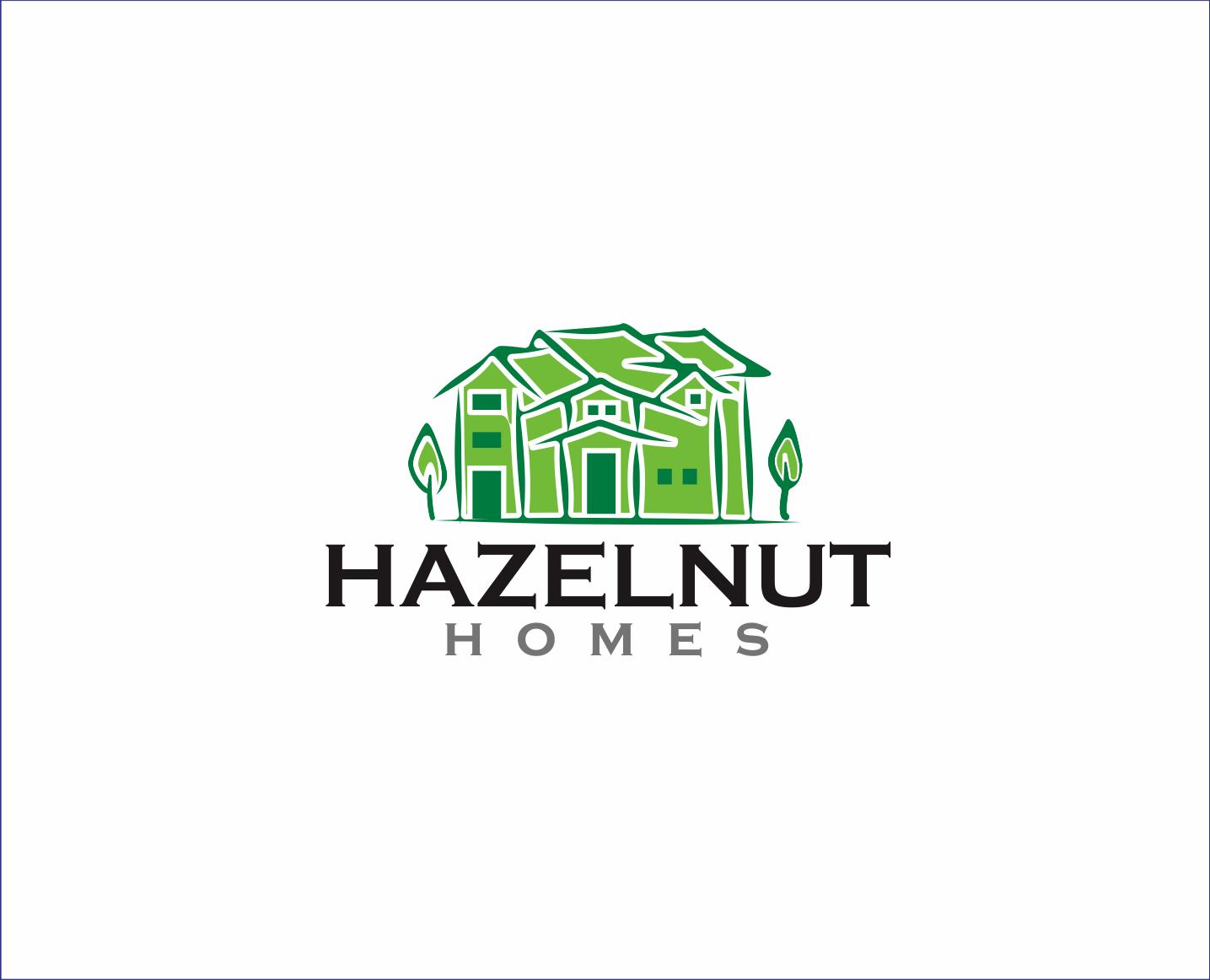 Logo Design by Armada Jamaluddin - Entry No. 70 in the Logo Design Contest Unique Logo Design Wanted for Hazelnut Homes.