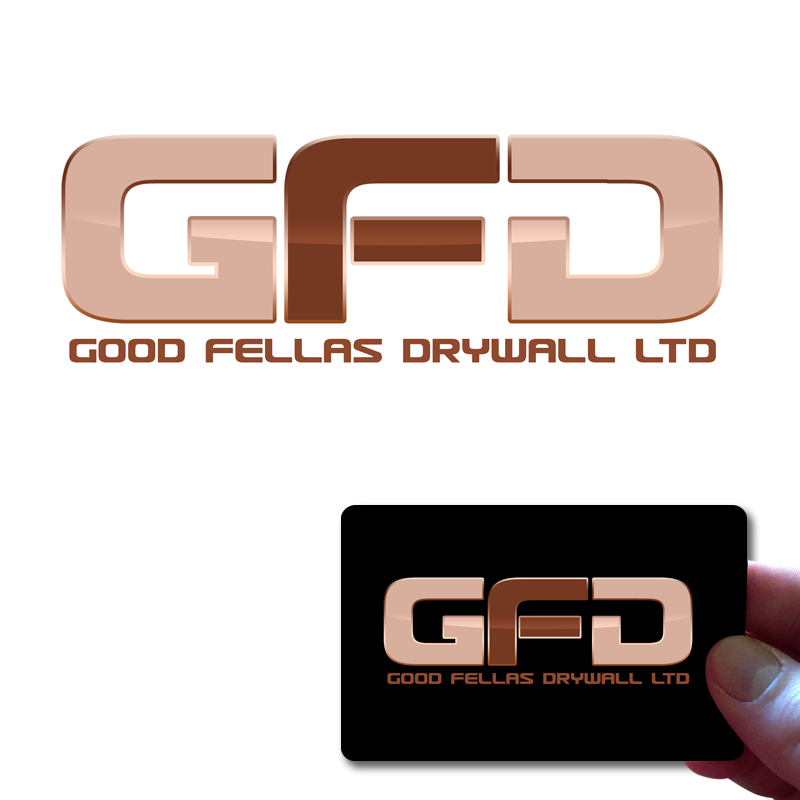 Logo Design by Private User - Entry No. 208 in the Logo Design Contest Creative Logo Design for Goodfellas Drywall.