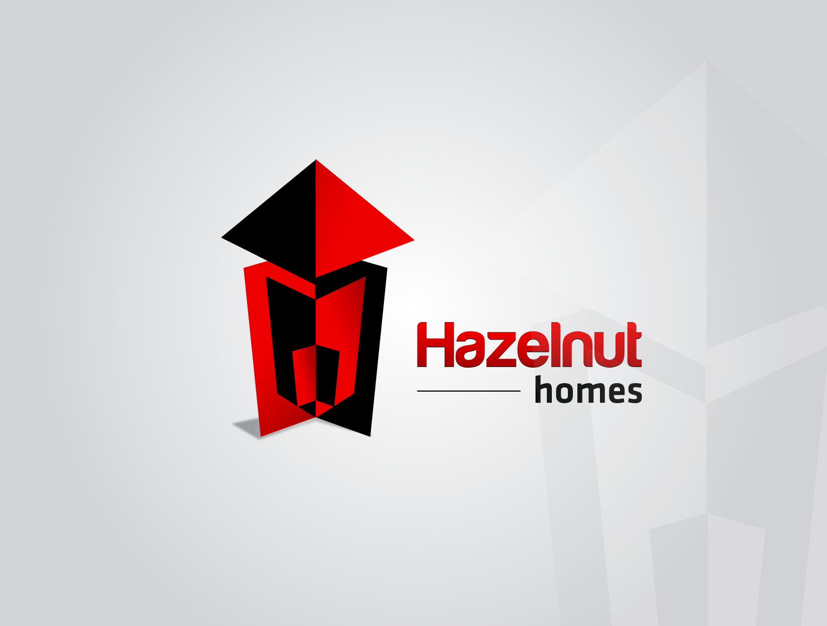 Logo Design by funkeekhan - Entry No. 74 in the Logo Design Contest Unique Logo Design Wanted for Hazelnut Homes.