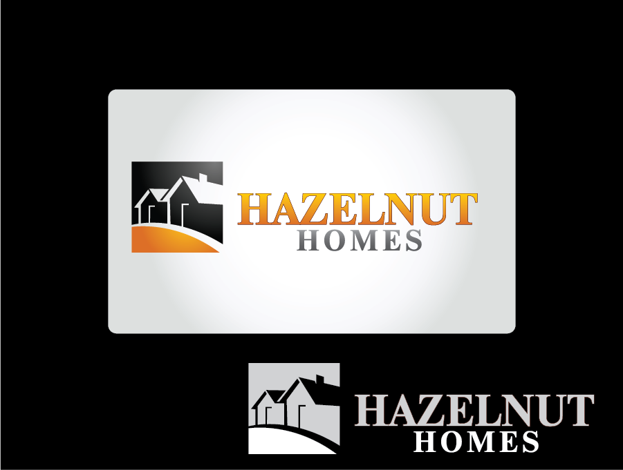 Logo Design by Private User - Entry No. 75 in the Logo Design Contest Unique Logo Design Wanted for Hazelnut Homes.