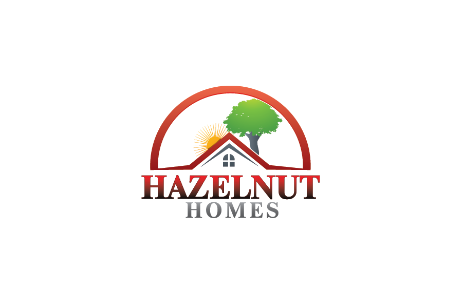 Logo Design by Private User - Entry No. 76 in the Logo Design Contest Unique Logo Design Wanted for Hazelnut Homes.
